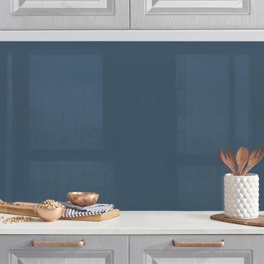 Küchenrückwand - Schieferblau