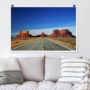 Poster - Colorado-Plateau - Querformat 2:3