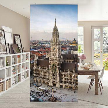 Raumteiler - City of Munich 250x120cm