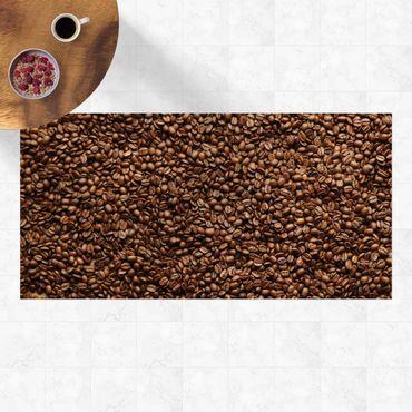 Vinyl-Teppich - Sea of Coffee - Querformat 2:1