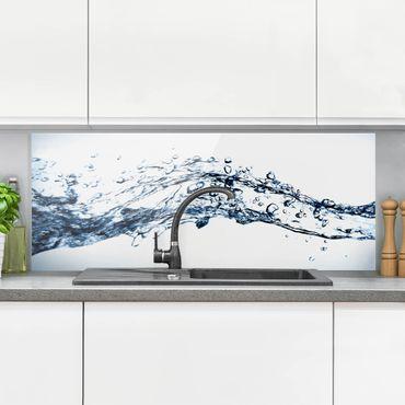 Spritzschutz Glas - Water Splash - Panorama - 5:2