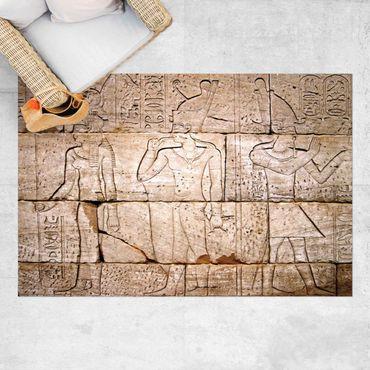Vinyl-Teppich - Egypt Relief - Querformat 3:2