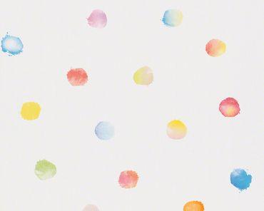 Esprit Mustertapete Esprit Kids 5 Dots & Stripes in Bunt
