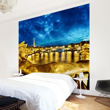 Fototapete Goldenes Paris
