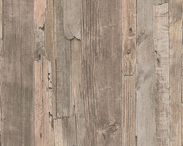 A.S. Création Mustertapete Best of Wood`n Stone 2nd Edition in Beige, Braun