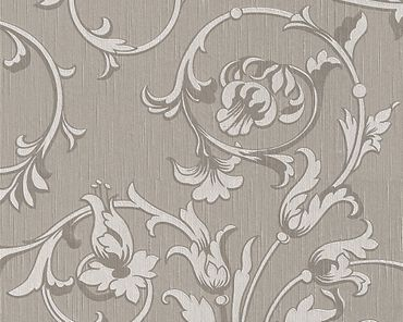 Architects Paper Mustertapete Tessuto in Braun, Grau