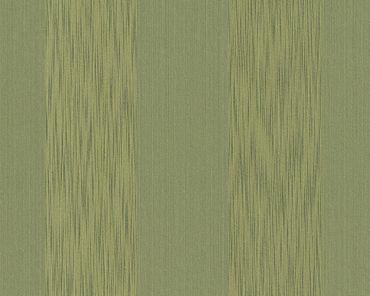 Architects Paper Streifentapete Tessuto in Grün