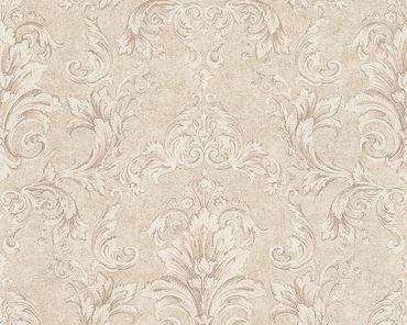 Versace wallpaper Strukturtapete Versace 2 Pompei in Beige, Metallic