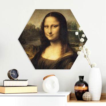 Hexagon Bild Forex - Leonardo da Vinci - Mona Lisa