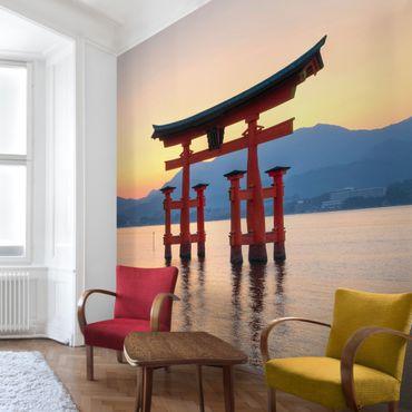 Fototapete Torii am Itsukushima
