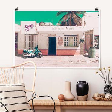 Poster - Mini Supermarkt Vintage - Querformat 2:3