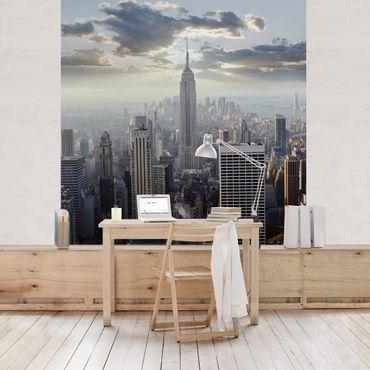 Fototapete Sonnenaufgang in New York