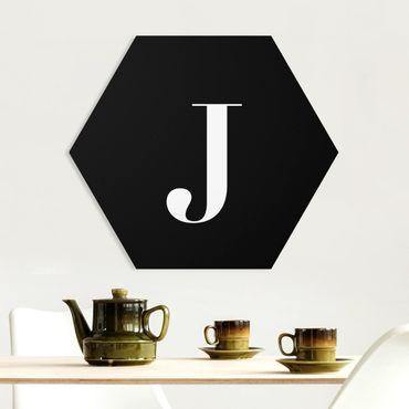 Hexagon Bild Forex - Buchstabe Serif Schwarz J