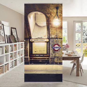 Raumteiler - Baker Street 250x120cm