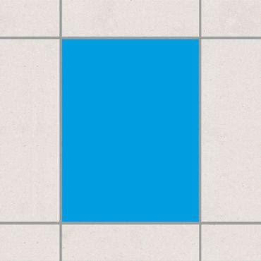 Fliesenaufkleber - Colour Cyan