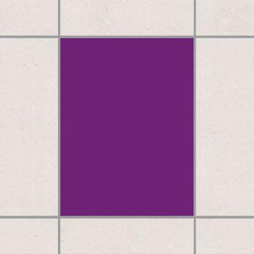 Fliesenaufkleber - Colour Purple
