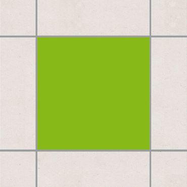 Fliesenaufkleber - Gelbgrün Grün