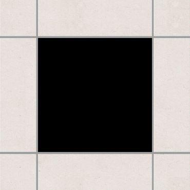 Fliesenaufkleber - Schwarz