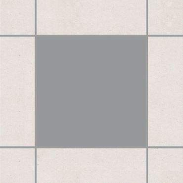 Fliesenaufkleber - Grau