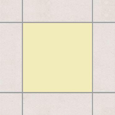 Fliesenaufkleber - Colour Crème
