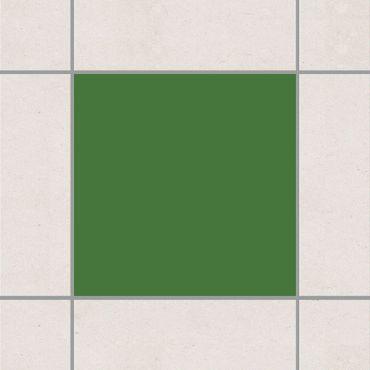 Fliesenaufkleber - Colour Dark Green Grün