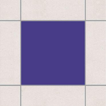 Fliesenaufkleber - Colour Dark Lilac