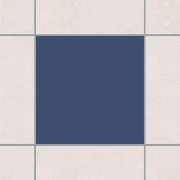 Fliesenaufkleber - Colour Grey Blue Blau
