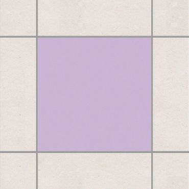 Fliesenaufkleber - Colour Lavender Flieder