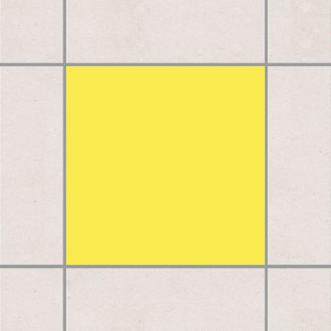 Fliesenaufkleber - Colour Lemon Yellow Gelb