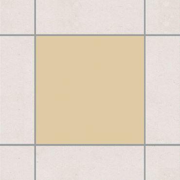 Fliesenaufkleber - Colour Light Brown Braun