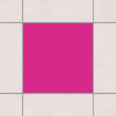 Fliesenaufkleber - Pink