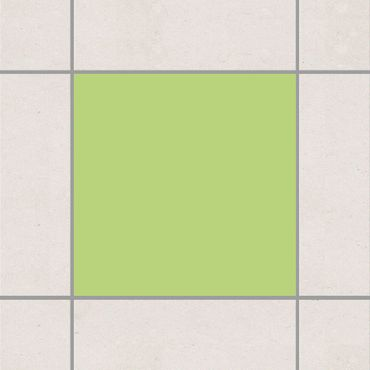 Fliesenaufkleber - Colour Spring Green Grün