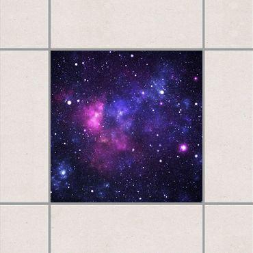 Fliesenaufkleber - Galaxie