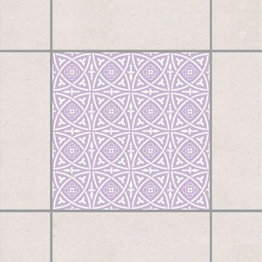 Fliesenaufkleber - Keltisch Lavender Flieder