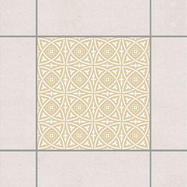 Fliesenaufkleber - Keltisch Light Brown Braun