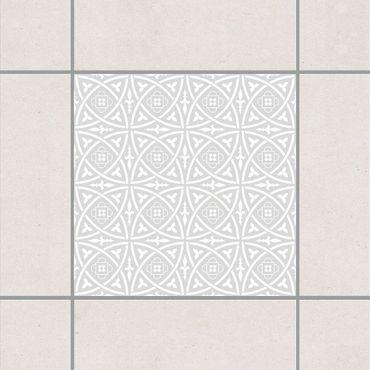 Fliesenaufkleber - Keltisch Light Grey Grau
