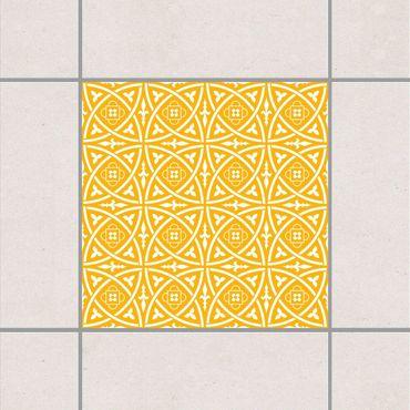 Fliesenaufkleber - Keltisch Melon Yellow Gelb