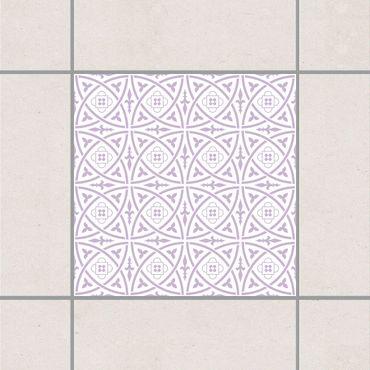 Fliesenaufkleber - Keltisch White Lavender Flieder
