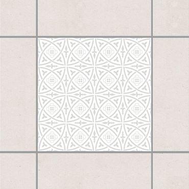 Fliesenaufkleber - Keltisch White Light Grey Grau