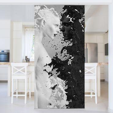 Raumteiler - Milk & Coffee II 250x120cm