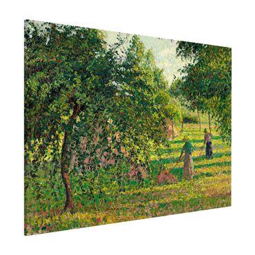 Magnettafel - Camille Pissarro - Apfelbäume - Memoboard Querformat 3:4