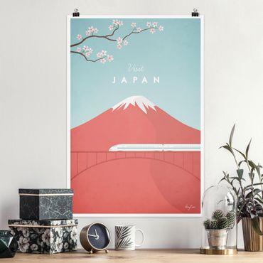 Poster - Reiseposter - Japan - Hochformat 3:2