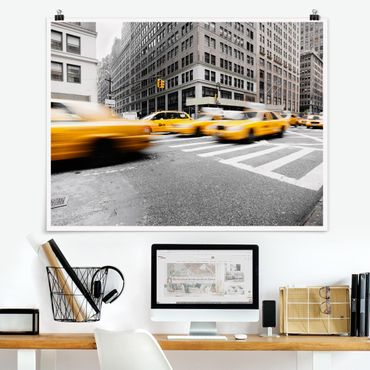 Poster - Rasantes New York - Querformat 3:4