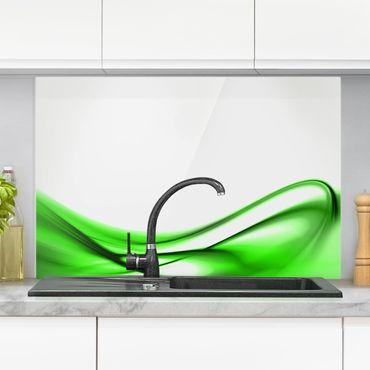 Spritzschutz Glas - Green Touch - Querformat - 3:2