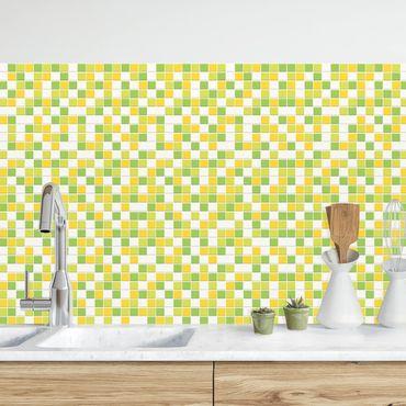 Küchenrückwand - Mosaikfliesen Frühlingsset