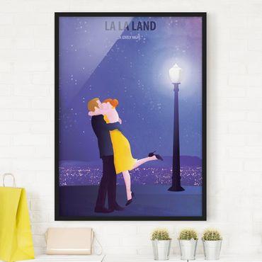 Bild mit Rahmen - Filmposter La La Land II - Hochformat 4:3