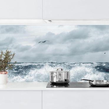 Küchenrückwand - No.YK6 Lebendige Nordsee