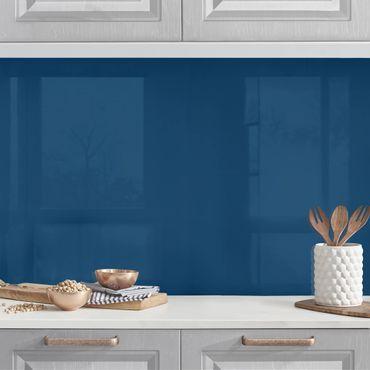 Küchenrückwand - Preussisch-Blau
