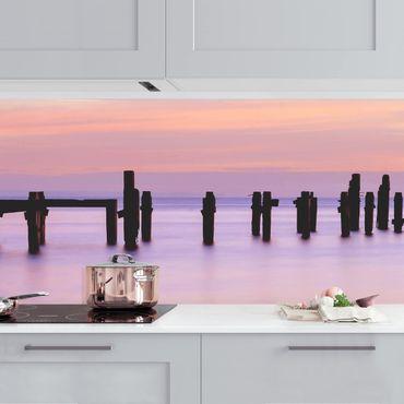 Küchenrückwand - Meeresromantik