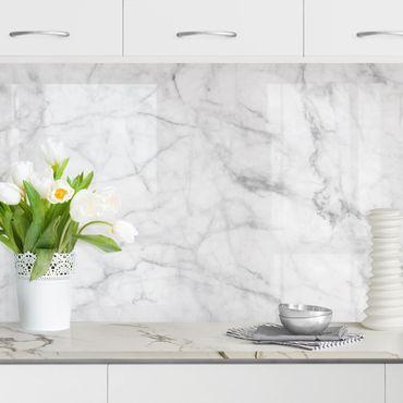 Küchenrückwand - Bianco Carrara